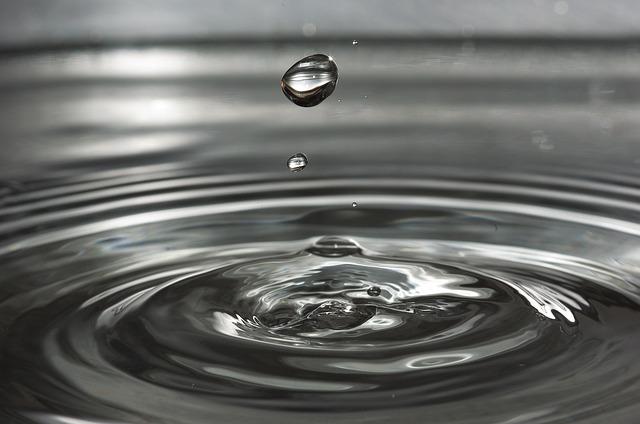 Jest czysta wolna woda