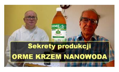 Produkcja preparatu KRZEM ORMESi NANOWODA wporozmawiajmy.tv